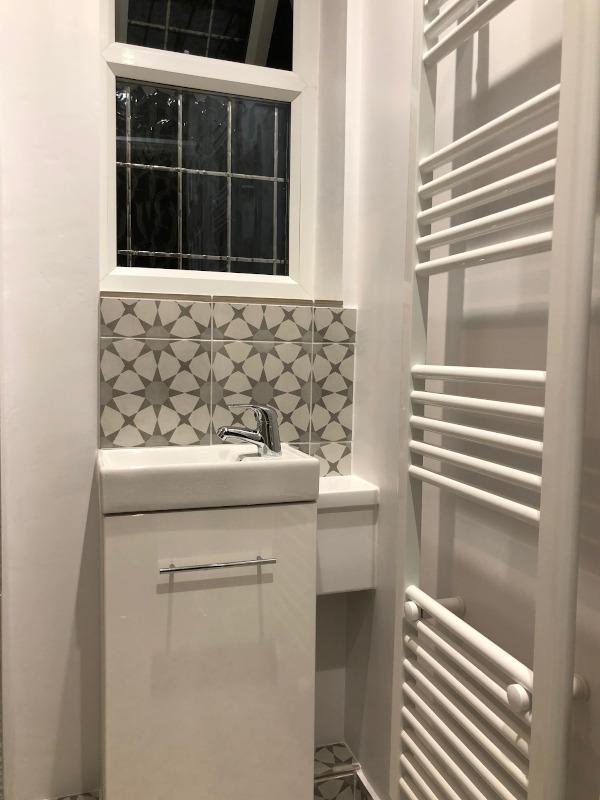 plumbing repair to shower room
