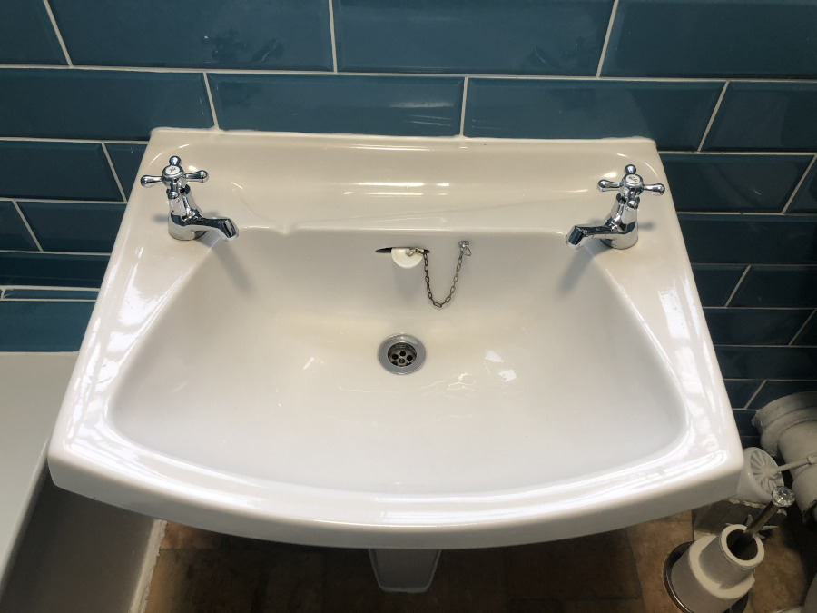 plumbing repair to sink