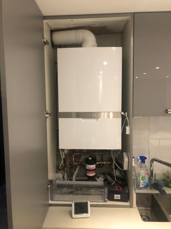ATAG new boiler installation
